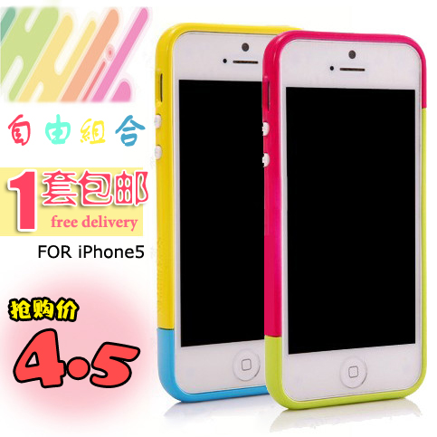 For apple   iphone5 5 circle lovers iphone5 mobile phone combination