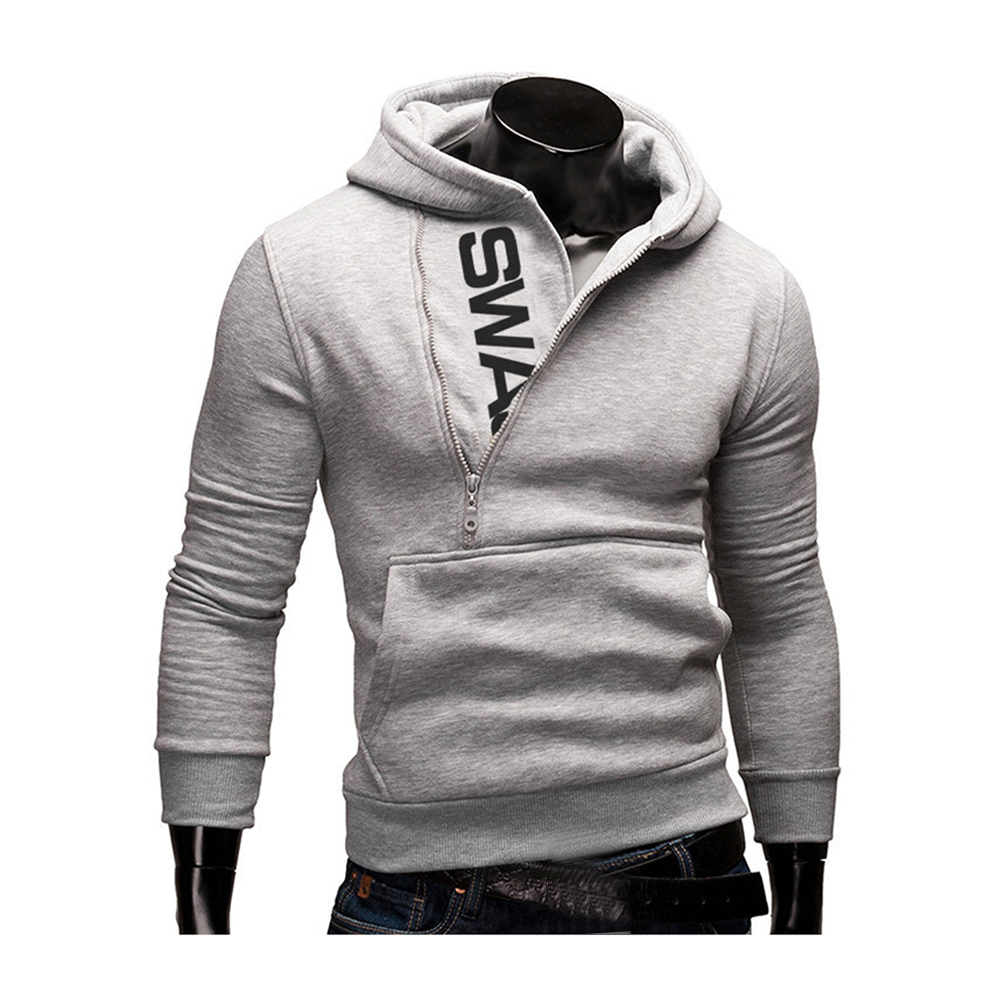 Hoodies Men Autumn Fashion Tracksuit Sweatshirt Men's Winter Warm Collar Cap Long Sleeves Pullover Hoody Sports Sweatshirts 21