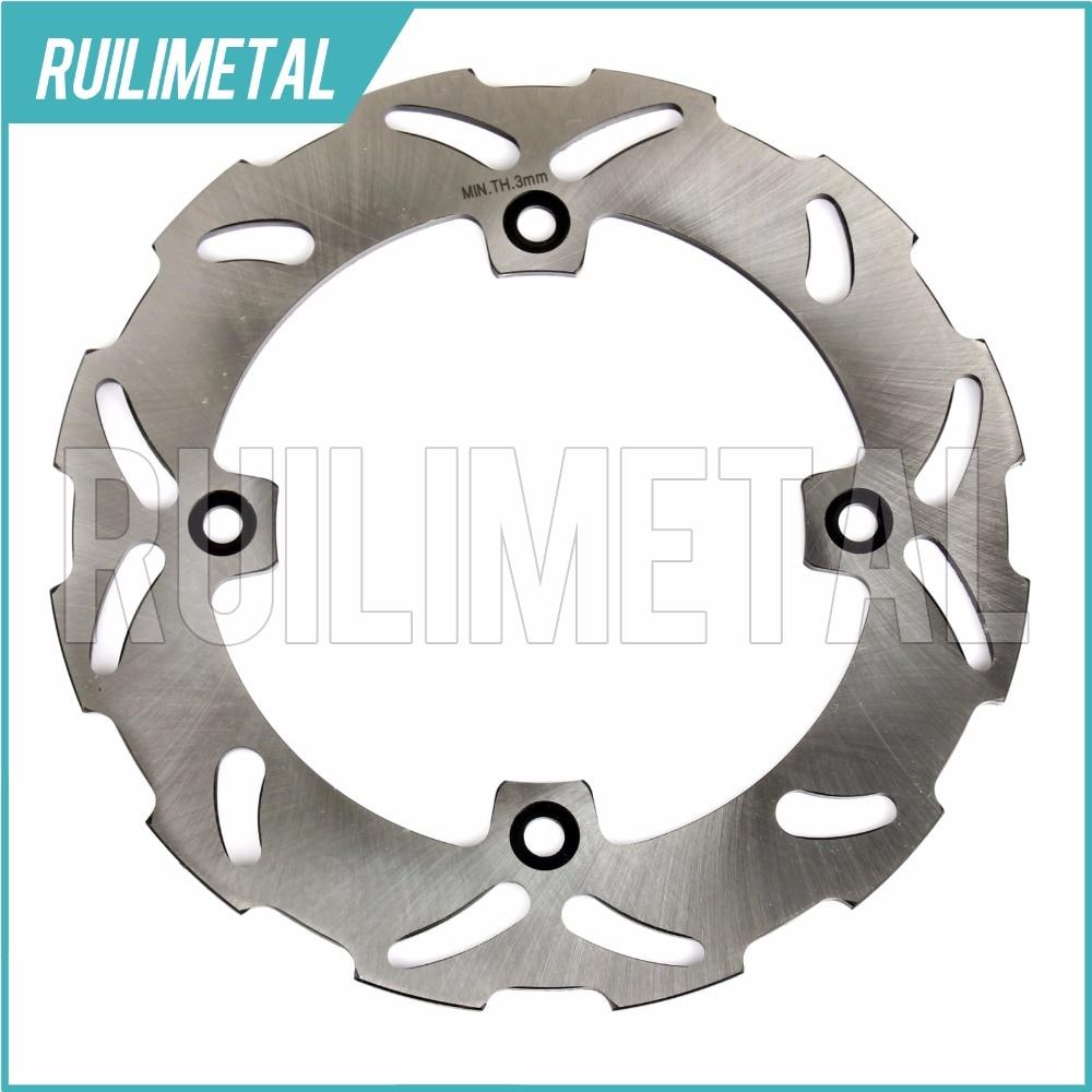 Rear Brake Disc Rotor for SUZUKI TS 125 200 R DR 250 350 SE S 1996 1997 1998 1999 96 97 98 99 motorcycle rotor rear brake disc for yamaha yp 250 majesty mbk skyliner 1998 1999
