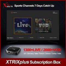 Apkintvbox Xtrix TV Plus Code Subscription Ireland Greece Arabic Australia 7 Day