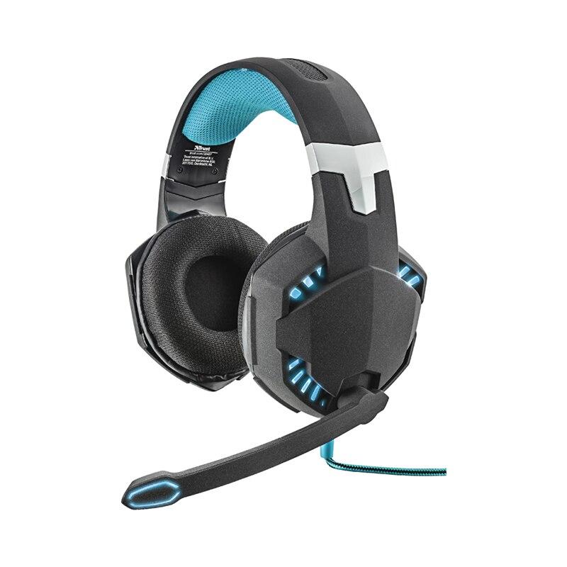 Headphones Trust GXT 363 HAWK аксессуар trust gxt 220 nb cooling stand 20159
