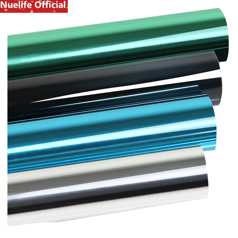 Self-adhesive one-way insulation hot solar film glass film office home construction kitchen balcony sliding door window film