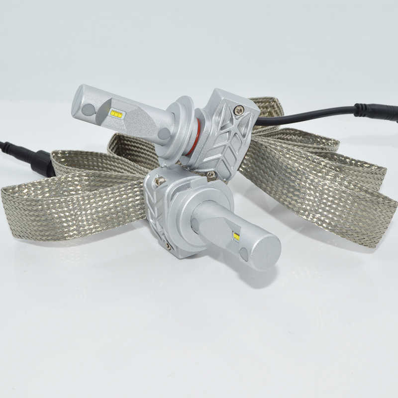2pcs H4  h1 h7 h8 h9 h11 9005 9006 Led Car Headlight Super Bright 8000LM LED Light Bulbs Kit Replacement headlight bulb