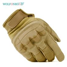 WOLFONROAD военные тактические боевые перчатки для походов на открытом воздухе мужские перчатки для страйкбола Защита оболочки полный палец перчатки Пейнтбол Одежда