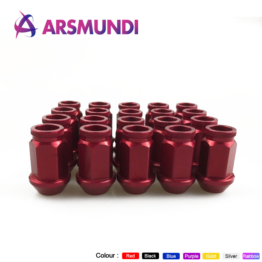 Auto Replacement Parts Bright 20 Pcs/set 40mm M12x1.5 D1-spec Jdm Wheel Lug Nut For Honda Acura Civic Integra New Nuts & Bolts p:1.5/1.25 L:40mm