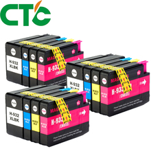12 Pack Compatible Ink Cartridge Replacement for H 932 933xl for H Officejet 6100 6600 6700 7110 7610 7612 H611a  H711a  H711n цена в Москве и Питере