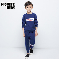 Pioneer Camp 4 16Y Boy Clothes set Kids Tracksuit Teenage Boy Sports Suit Children Autumn/Winter Clothing Set 2pc Outfits