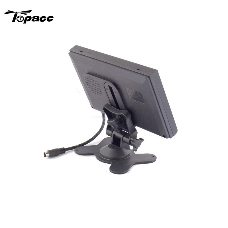 Hot New 7/9 Inch Monitor Mount Displayer Holder LCD Bracket Fixed Base RC FPV Racing Quadcopter Accessories new fixed mount
