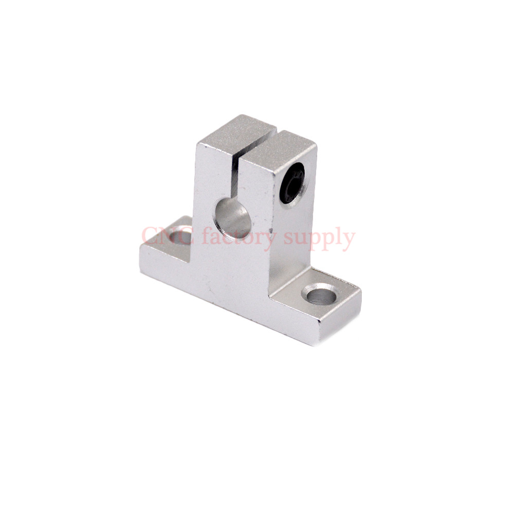 Hot sale 1pc SK16 16mm linear bearing rail shaft support XYZ Table CNC Router SH16A 1x shf20 20mm linear rail shaft support table cnc router 60x37x20mm linear bearing rod rail horizontal shaft support steel