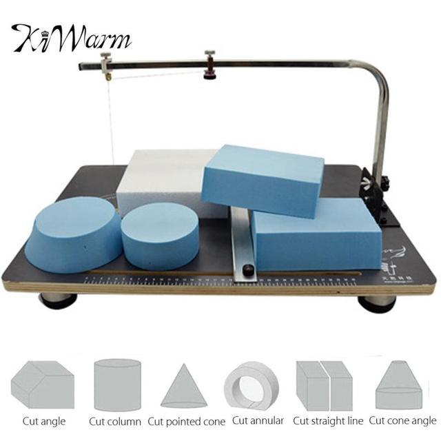 Kiwarm 110v 220v Hot Wire Foam Cutting Machine Heating Tools Table Styrofoam Cutter