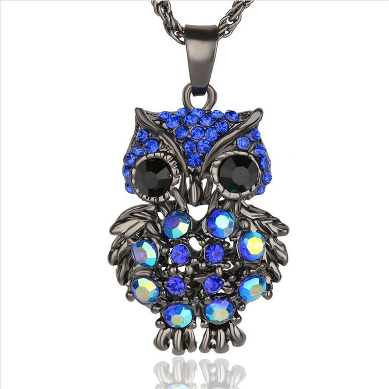 ახალი ბრენდის Charms Owl - მოდის სამკაულები - ფოტო 2