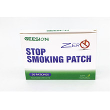 1box=30patches/lot 100% Natural Ingredient Stop Smoking Patches to Give Up Cigarettes Plaster Anti Patch