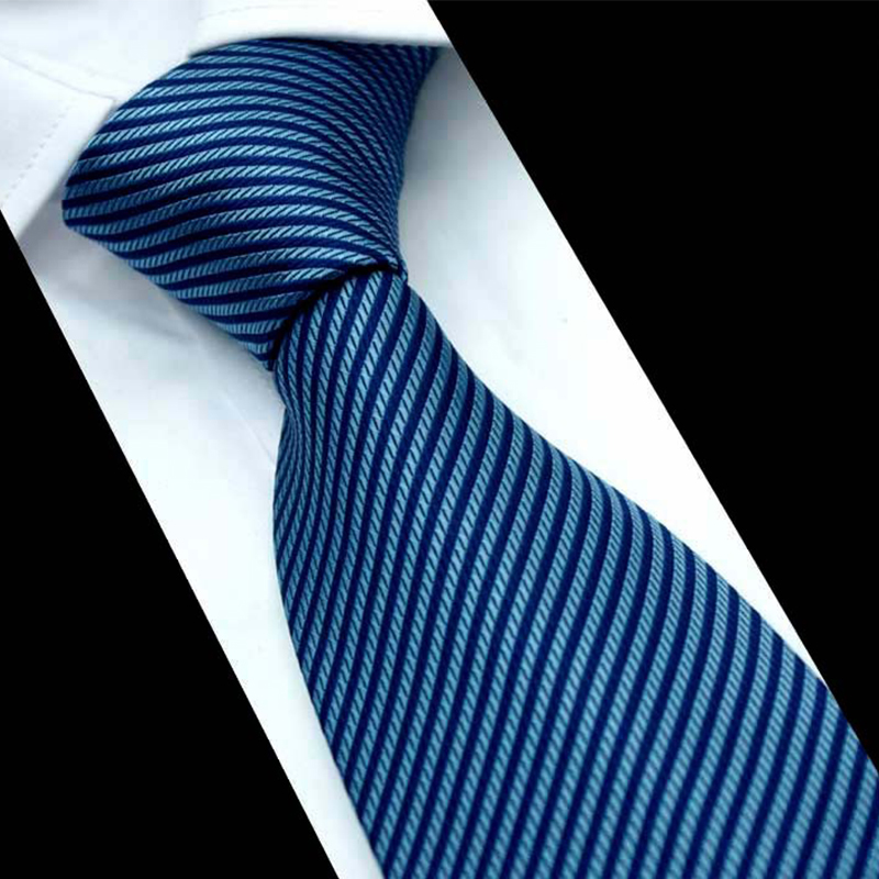 Neck Ties For Men Classic Design Striped Neckties Cravat Fashion Casual Polyester Bow Neck Tie Wedding Gravatas