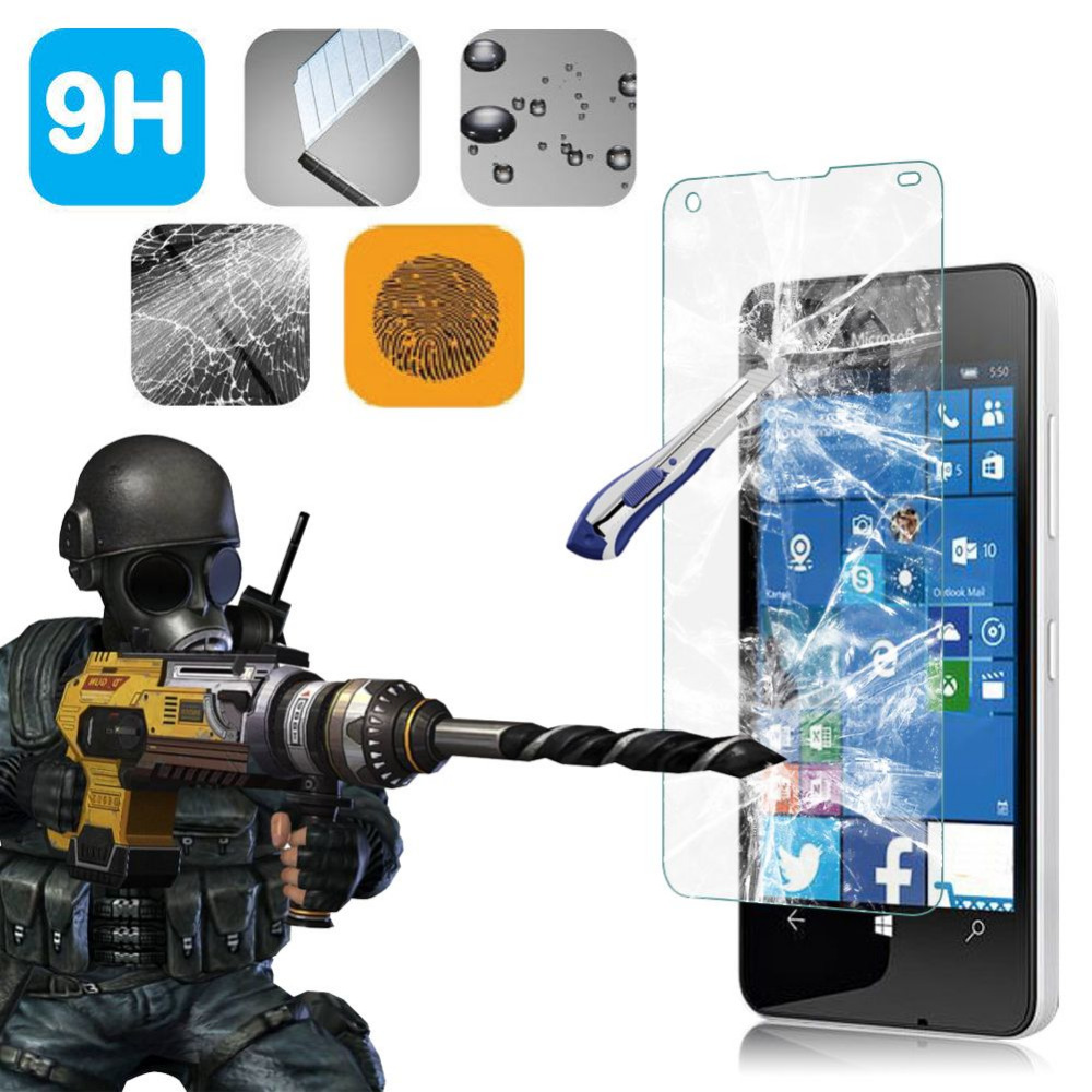 Tempered Glass Film For Microsoft Nokia <font><b>Lumia</b></font> N550 650 950XL 950 X 540 XL 930 830 820 730 <font><b>640XL</b></font> Screen Protector Protective Film image