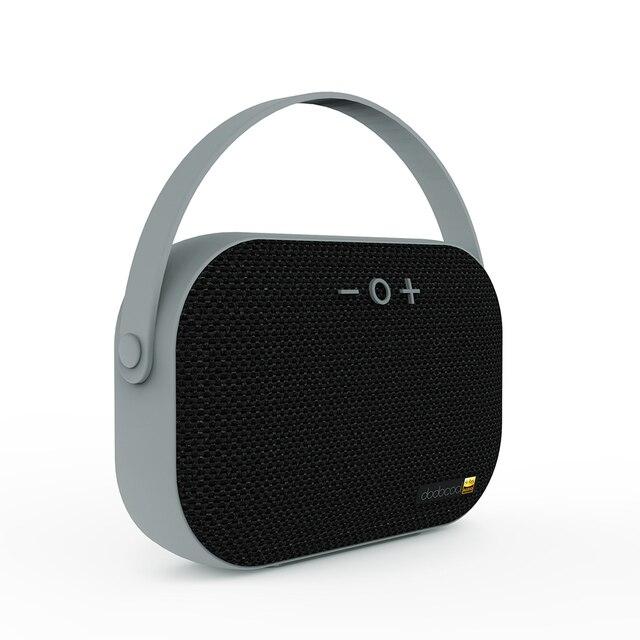 Dodocool altavoz inalámbrico portátil AUX 3,5mm Bluetooth 4,1-resolución recargable altavoz estéreo con micrófono para teléfono de la computadora