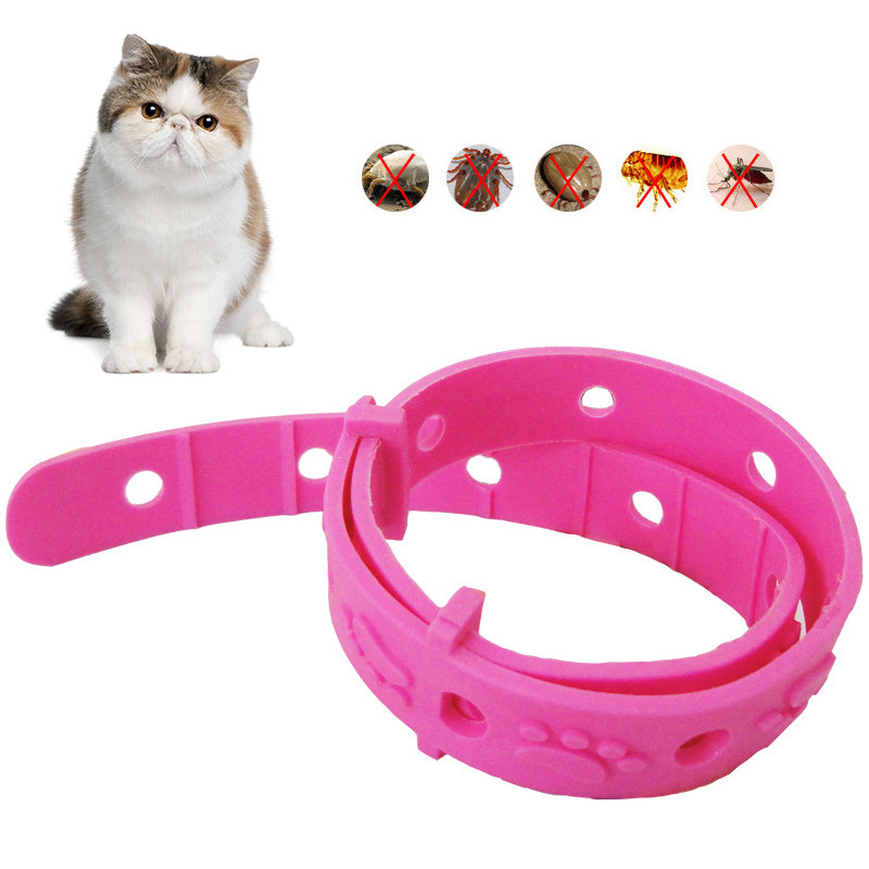 Cat Collar Kill Flea & Tick Collar For Dog Cat Pet Supplies Product Adjustable For Large Small Dogs Cats Pets Flea Collars