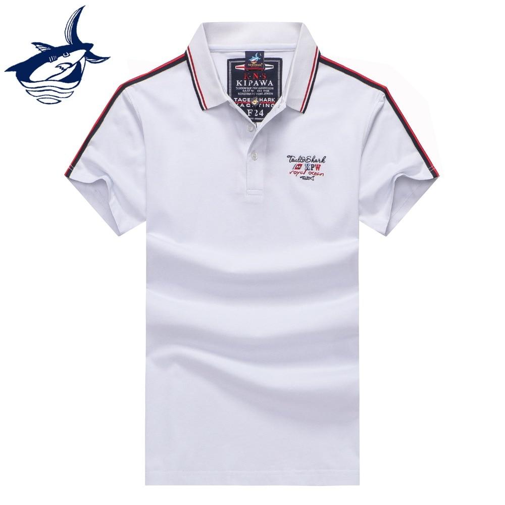 Mode Polo Shirt Männer Yachting Königliche Marke Tace & Shark Polo Hemd Homme Hohe Qualität Baumwolle Casual Business Camisa Poloshirts Um Zu Helfen Oberteile Und T-shirts Fettiges Essen Zu Verdauen