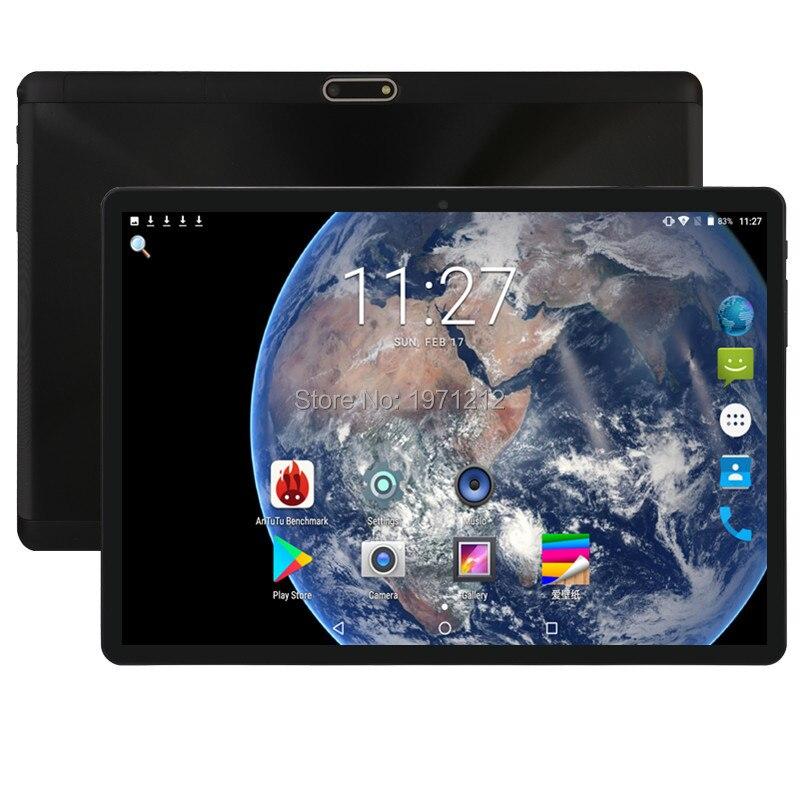 2019 plus récent Google Play Store Android 8.0 OS 10 pouces 4G FDD LTE tablette 6GB RAM 64GB ROM 1280*800 IPS double cartes SIM enfants cadeau