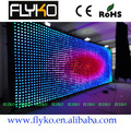 Free shipping FLYKO Indoor Stage background p10 LED video curtain
