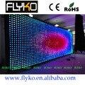 Frete grátis FLYKO fundo palco interior p10 levou cortina de vídeo