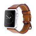 Fohuas série 2 1 genuíno laço de couro para apple watch band turnê dupla 42mm para apple watch leather strap 38mm pulseira mulheres