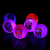 Luminous Balls Flash Ball Light Glow In The Dark Kids Toy Flash Glowing Toys LED Toys Child For Halloween/Christmas