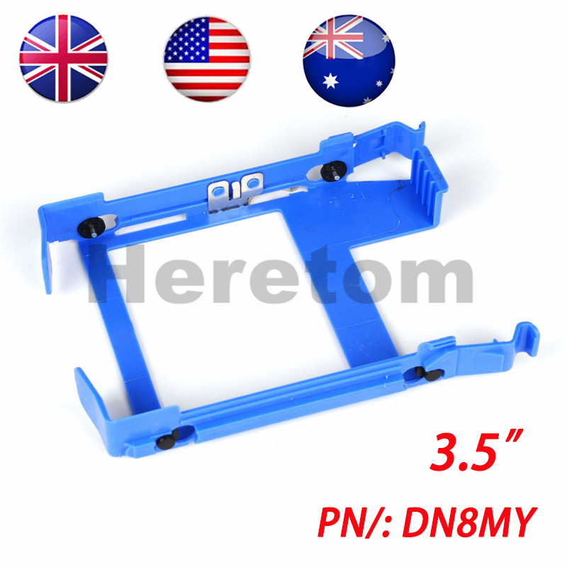 "US/UK/AU Shipping 3.5"" HDD Tray DN8MY PX60023 For Dell T1650 390 790 990 3010 7010 9010 3020 7020 9020 T20 T1700 T3610 T5610 MT(China)"