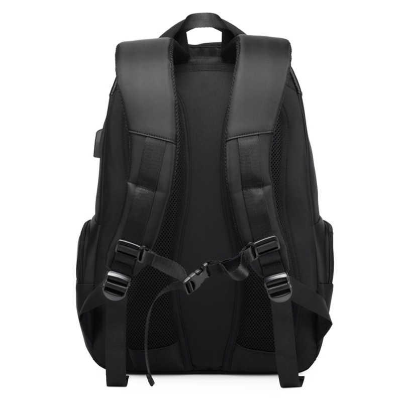 DC.meilun erkekler seyahat sırt çantası büyük kapasiteli genç erkek çantası USB şarj fonksiyonlu sırt çantası iş dizüstü sırt çantaları a1283