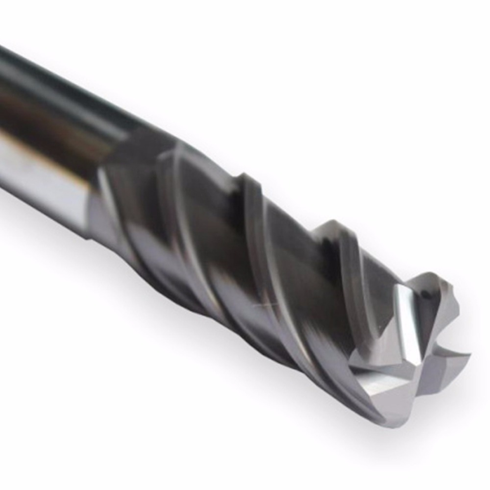 MZG Discount Price Cutting HRC55 4 Flute 4mm 5mm 6mm 8mm 12mm Alloy Carbide Milling Tungsten Steel Milling Cutter End Mill