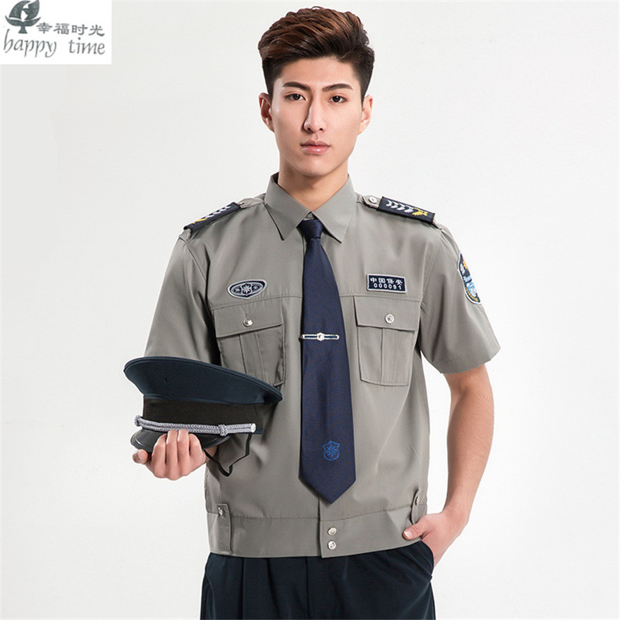 Online buy wholesale security uniform shirts from china for Uniform shirts for men