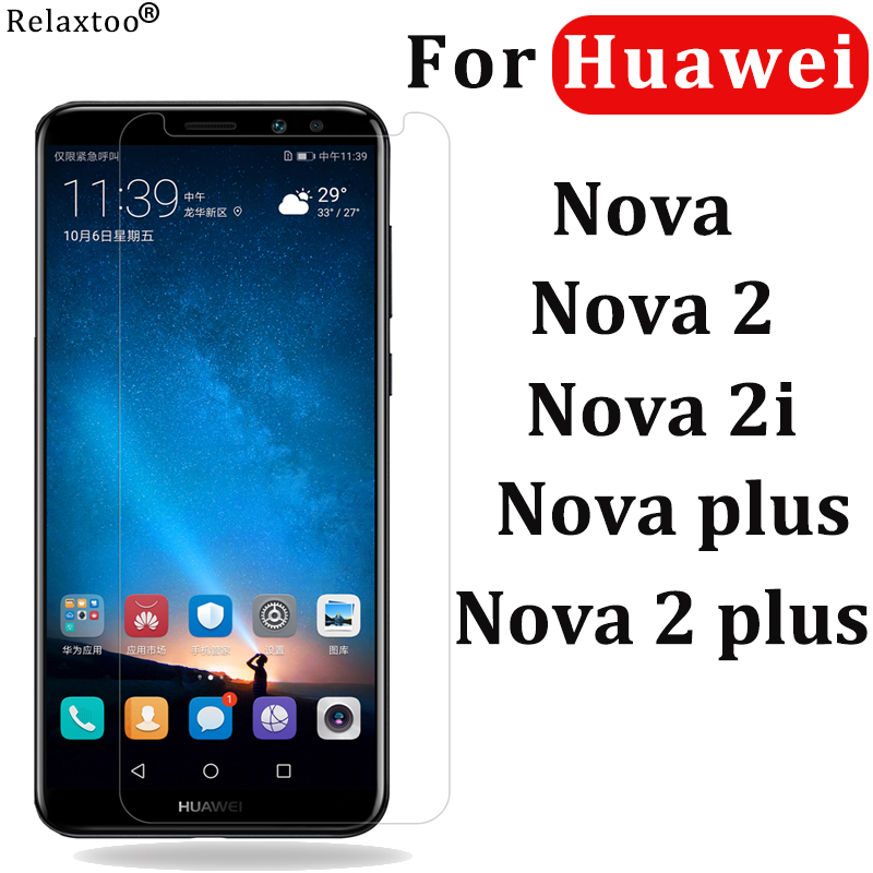 For Huawei Nova 2i 3i 5i Tempered Glass For Huawei Nova 2 Nova2 Plus Screen Protector On Nova 5 I 3 I 2 Safty Glas Protective