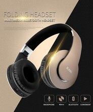 LNBEI Gaming Headset Sem Fio Bluetooth Fone De Ouvido Esporte Fone de Ouvido com MIC o Apoio TF Cartão de Rádio FM para o Computador PC iPhone Xiaomi