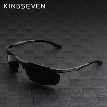 Kingseven Мода поляризационные Солнцезащитные очки Для мужчин оригинальный Брендовая Дизайнерская обувь Защита от солнца Очки Человек Женщины Polaroid gafas-де-сол Винтаж Óculos