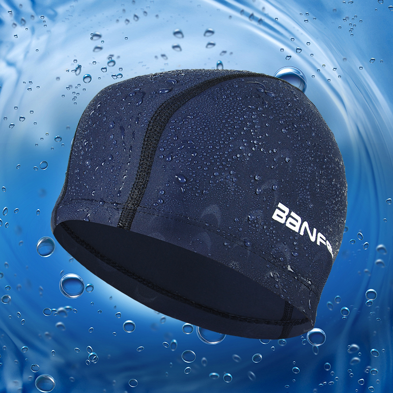 Swimming Cap Waterproof Hat Men Shark Hat Scuba Diving Cap Pool Hats men women bluetooth headphone cap wireless sports earphone hat bluetooth v4 1 music hat cap speaker earphones baseball hats