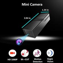 Camsoy Mini Motion Detection Full HD 1080P Camera Infrared Surveillance DV Voice Video Recorder Micro Camcorder Security DVR camsoy mini camera t190 mini camcorder 1080p full hd micro camera in h 264 with tv out mini dv voice recorder pen camera