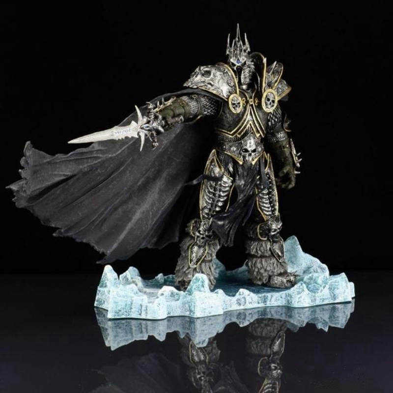 ФОТО 22cm Arthas Menethil Fall of The Lich King Action Figures Toys Dota 2 PVC Collectible Figures Model Dolls Children Gifts