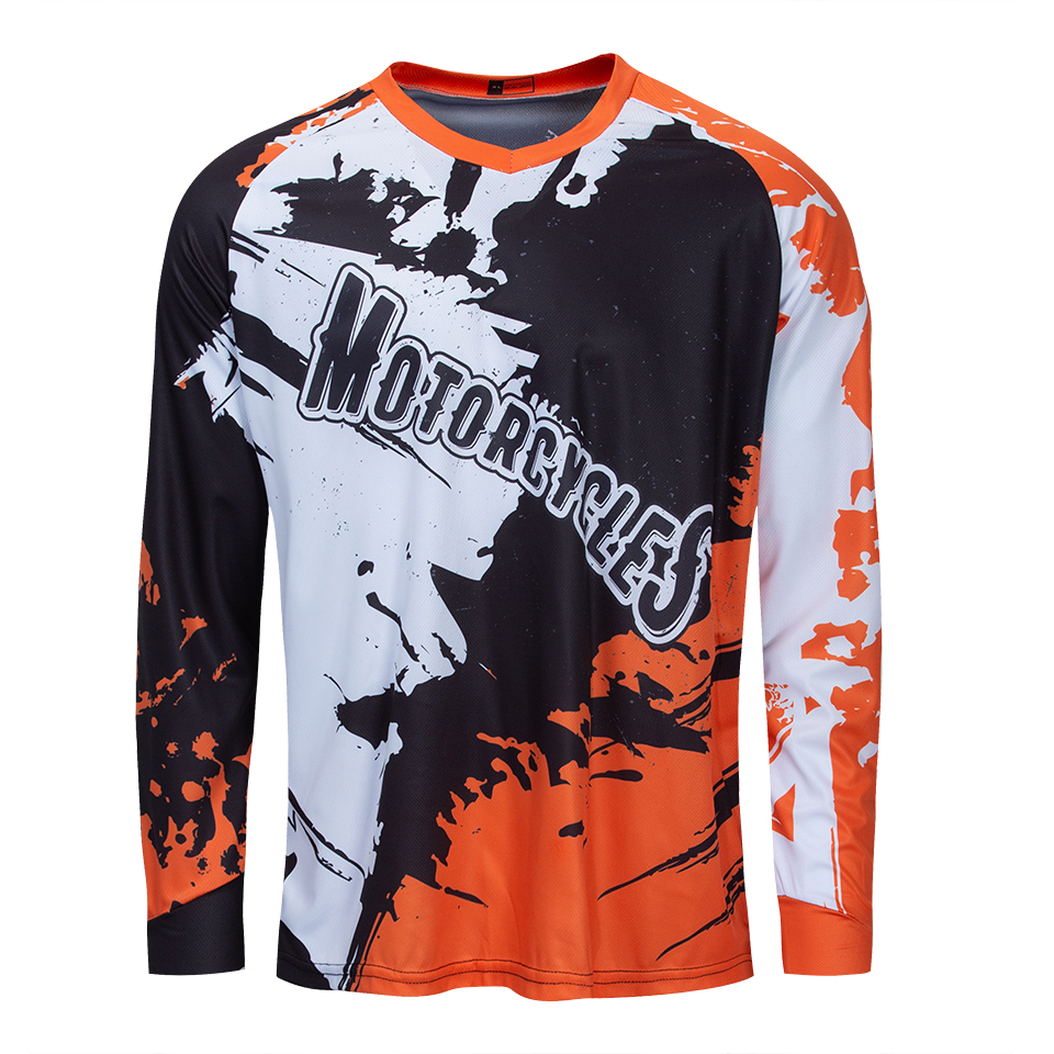 2019 cartoon downhill jersey men mountain bike shirt motocross clothing cycling clothes bicycle top dh mtb maillot sport wear in Cycling Jerseys from Sports Entertainment