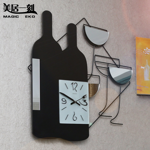 wall clock personalized decoration clock wood mute wall clock electronic quartz watches and clocks