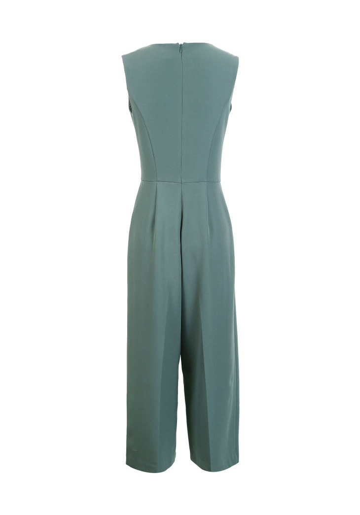 Vero Moda spring fashionable V-collar loose-leg cropped Jumpsuits for women |318144507 20