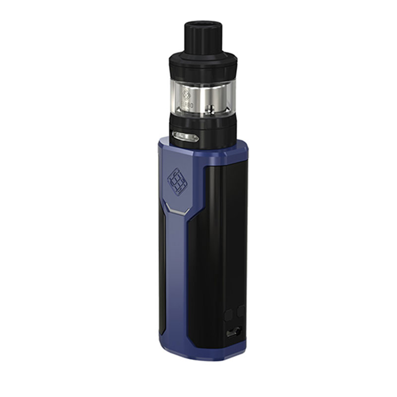 Vente chaude 80 w WISMEC SINUEUX P80 TC Vaporisateur Kit avec 2 ml Elabo Mini Réservoir & Side 0.96- pouces Écran N ° 18650 Batterie E Cigarette Vaporisateur - 4