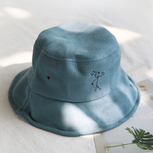 Nuevo sombrero de cubo de personajes de dibujos animados para hombres y mujeres sombrero de pescador caza senderismo ocio Panamá sombrero Bob sombreros gorras