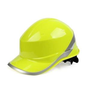 Image 3 - Casco di sicurezza Tappo di Lavoro ABS Materiale di Isolamento Con Riflettente Della Banda Cappello Duro Costruzione Sito Isolante Caschi di Protezione