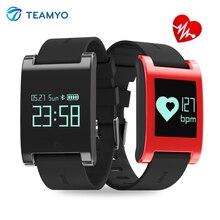 Teamyo фитнес-трекер активности водонепроницаемый SmartWatch артериального давления браслет с шагомером монитор сердечного ритма Смарт для телефона
