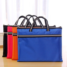 Commercial Business Document Bag A4 Tote file folder Filing Bag Meeting Bag Side Zipper Pocket Office Bags For Documents 38*29cm commercial business document bag a4 tote file folder filing meeting bags strong handle zipper pocket office bags protable canvas