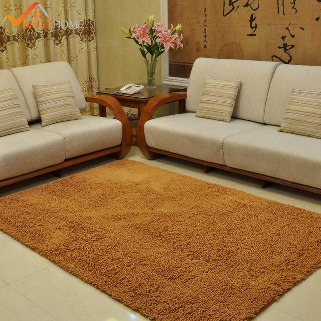 100x140cm 39 X55 Chenille Microfiber Large Carpets For Living Room Machine Washable Area