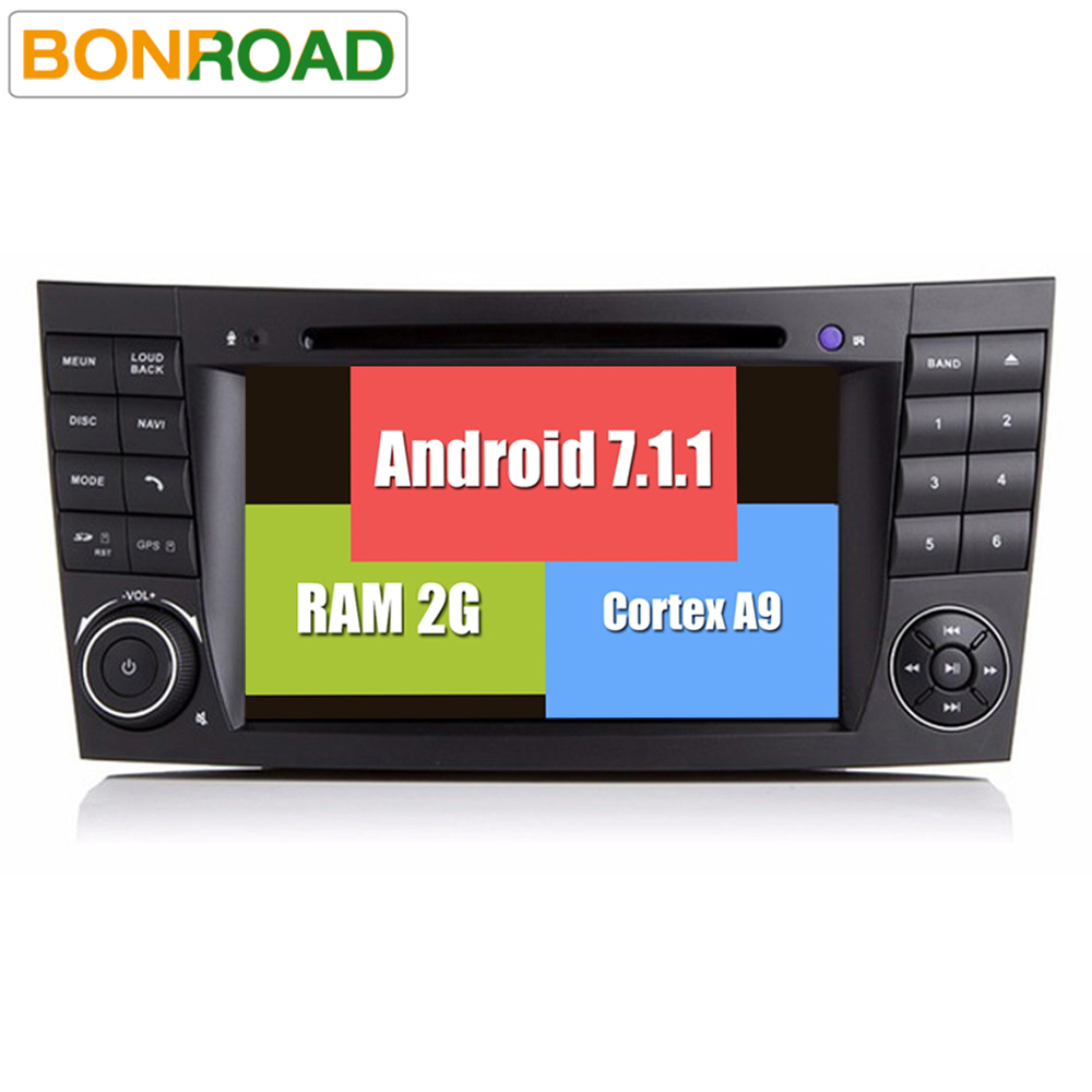 rk3188 android 7 1 2 2din car radio dvd for mercedes e g. Black Bedroom Furniture Sets. Home Design Ideas