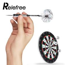 3pcs Needle Tip Darts With 3 Spider Set Flights Unzerbrechlich Metal Black Outdoor Match Indoor Gifts