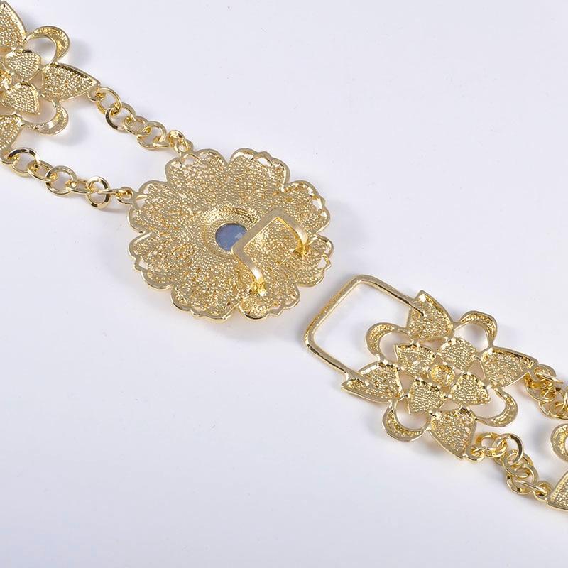 HTB1SwtCOH2pK1RjSZFsq6yNlXXal 6PCS Set Luxury Wedding Jewelry Set For Women Arabic Dubai Full Set Jewelry in Gold Big Size Costume Necklace Sets