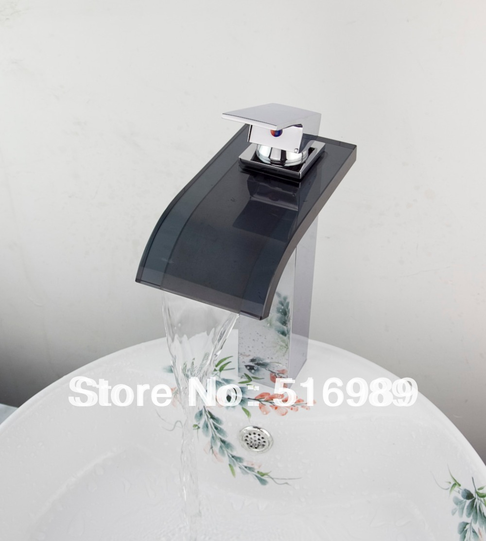 Square Bathroom Font B Vessel