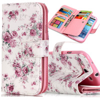 For Samsung Galaxy S3 Case Wallet Flip Cover Case Samsung Galaxy S3 Cover 3D Relief Phone